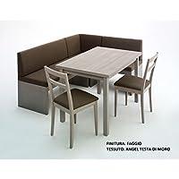 Amazon.it: tavolo con panche in legno - Tavoli / Cucina: Casa e cucina