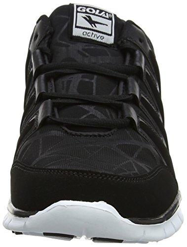 Gola Termas 2, Chaussures de Fitness Homme Noir (Black/white)