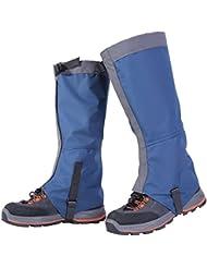 Uleade 1 Pair de guêtres imperméables pour la randonnée, l'escalade, la marche, la neige