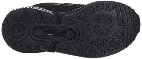 new concept efb04 2db30 adidas Zx Flux J, Scarpe da Ginnastica Basse Unisex-Bambini, Nero (Core  Black Core Black Core Black 0), 36 2 3 EU