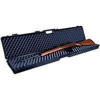GSG 201062 - Maletín de Arma con Inserto de Espuma, Color Negro