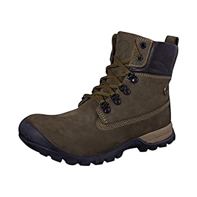 Woodland Men Gc 0925110W13 Olive Green Nubuck Boots