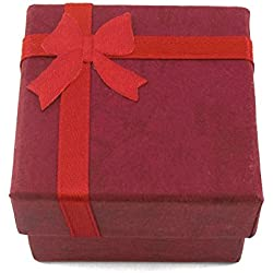 MapofBeauty Gift Boxes Ring Watch Box Cartons Watch Box(Red)