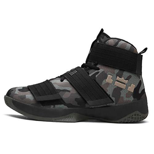 Männer Sport Sneakers Profi-Basketball Schuhe AtmungsAktive Luft-Zoom-Kissen Haken Schleife männliche Schuhe