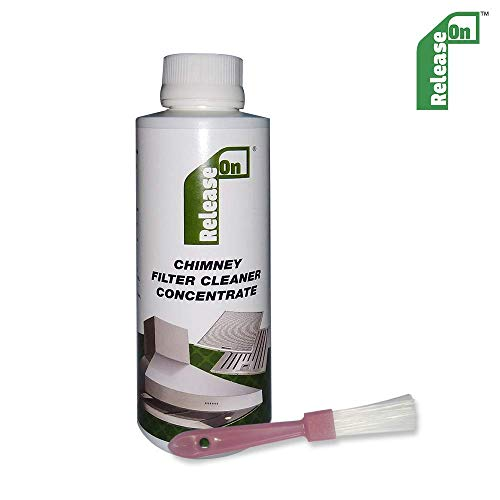 Release On Kitchen Chimney Filter Cleaner Concentrate Liquid with Brush...