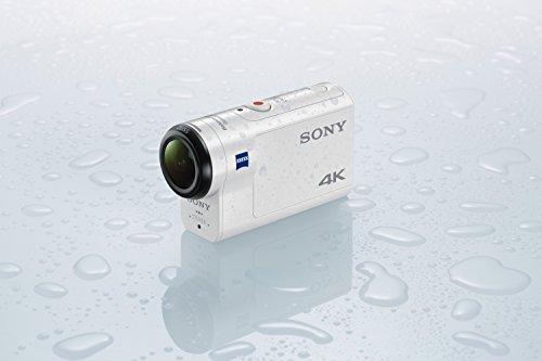 Sony FDR-X3000R 4K Action Cam mit BOSS (Exmor R CMOS Sensor, Carl Zeiss Tessar Optik, GPS, WiFi, NFC) mit RM-LVR3 Live View Remote Fernbedienung, weiß - 19