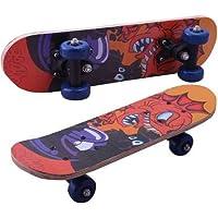 LIFE HUB Skating Board Skateboard (17 Inch x 5 Inch, Multicolor)