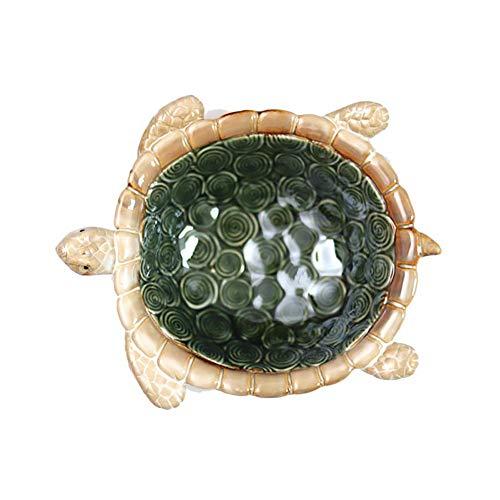 Feng tata Kreatives Design Home Farbe Glasur Hochtemperatur Keramik Möbel Turtle Bowl Schlüssel Lagerung Candy Dish Aschenbecher Dekorationen -