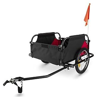 remolque para bicicletas con dos ruedas