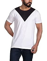 Urban Age Cut And Sew Triangle Streetwear Men's T-shirt