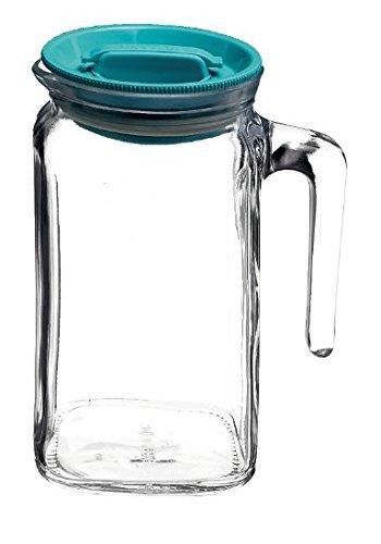 Caraffa Brocca in vetro TEMPERATO conservare frigorifero freezer Bormioli Frigoverre Caraffa 0,65Lt