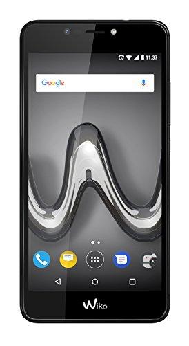Wiko TOMMY2 Plus Smartphone portable débloqué 4G (Ecran: 5,5 pouces - 16 Go - Double Micro-SIM - Android) Black