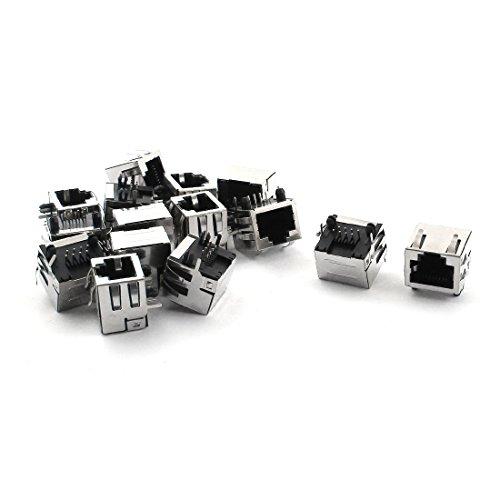 8-pin-weiblich-anschluss (Sourcingmap® 15Stk 8 Pin Plugin RJ45 PCB Jack Buchsen Anschluss weiblich Verbinder 17x16x16mm de)