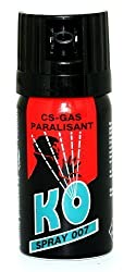KO Spray 007 CS-GAS PARALISANT Test