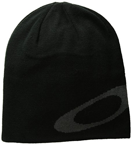 Oakley Herren Mainline Beanies, Blackout, One Size