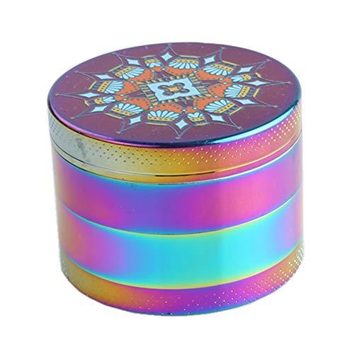 Engshwn Nuevo Diseño Rainbow 55mm 4 Piezas Durable Aleación de Zinc