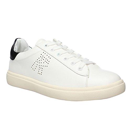RIFLE Chaussures Homme Baskets, Plates Avec Lacets. mod. 162-M-383-40 blanc noir