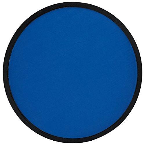 Preisvergleich Produktbild Faltbarer Frisbee mit Etui (blau)