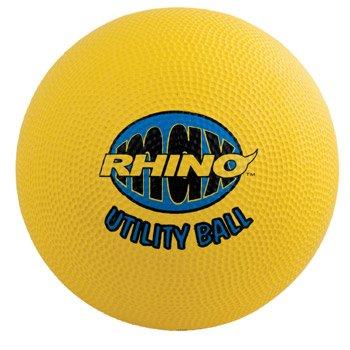 Champion Sports Rhino Utility Spielplatzball, gelb, 10-Inch -