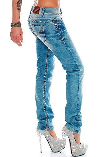 Cipo & Baxx - Jeans - Slim - Homme Bleu Bleu Bleu - Bleu