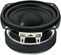 Number One Miniature Hi-Fi Bass-Midrange Speaker (30 WMAX, 15 WRMS, 8 Ohm)