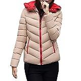 Bellelove〗 Frauen Winter Baumwolle Warmer Mantel Dicke Dünne Jacke Kurzer Kapuzenpullover