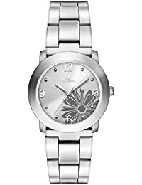 s.Oliver Damen-Armbanduhr SO-1161-MQ