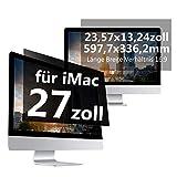 C1st Displayfilter Blickschutzfilter Bildschirm Displayschutz Sichtschutz 16:9 Compatible with iMac 27