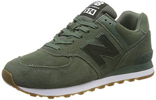 New Balance 574v2, Zapatillas para Hombre, Verde (Green Green), 44 EU