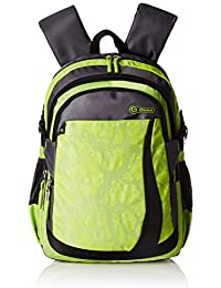 Genius Polyester 48 cms Green Softsided Children's Backpack (RIVER 19 GREEN)