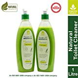 Organica Biotech ThinkSafe Natural Toilet Cleaner Liquid, Eco friendly, Septic tank safe, Garden