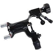 Chuse H06-9-5 - Máquina de tatuaje rotativa, aluminio,para sombreado y delineado, color negro