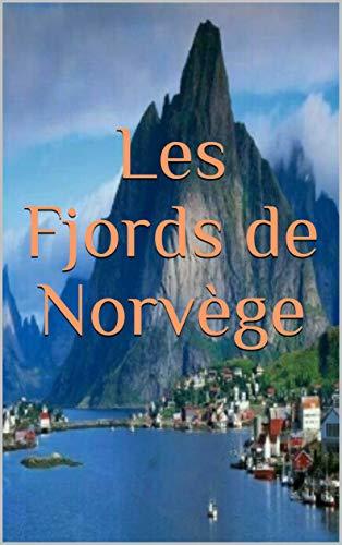 Couverture du livre Les fjords de norvège