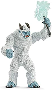 Schleich Ice Monster with Weapon Toy Figure, Multi-Colour