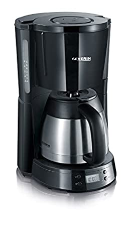 Cafetiere Isotherme Inox - Severin 4141 Select Cafetière Programmable Isotherme Noir/Inox