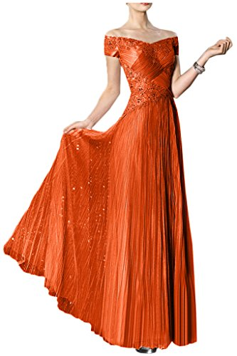 Victory Bridal - Robe - Trapèze - Femme Orange - Orange