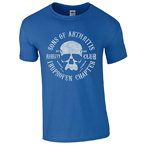 Lifeguardgear Herren T-Shirt Schwarz schwarz Medium Königsblau