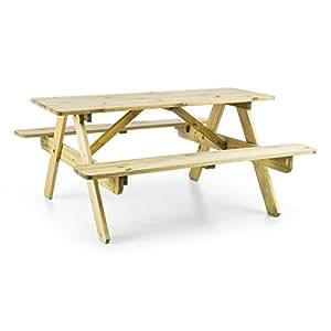 blumfeldt picknickerchen kinder picknick tisch spieltisch gartentisch 35 cm sitzh he kurzer bank. Black Bedroom Furniture Sets. Home Design Ideas