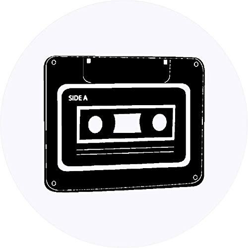 Azeeda 24 x 40mm Redondas 'Cinta de Casete' Pegatinas (SK00001163)