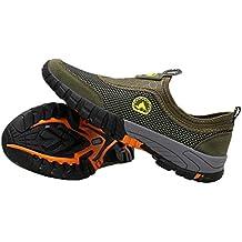 Hombres Mocasines De Verano Conducir Caminar Zapatillas De Deporte Malla De Aire Antideslizante Transpirable Caminar Al