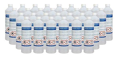 baytronic 30x bioetanol 96,6% Premium 1L para Chimenea (30L)