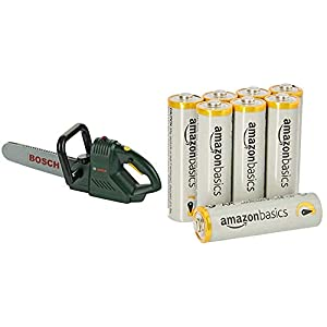 Theo Klein 8430 - Bosch Chainsaw & AmazonBasics AA Performance Alkaline Batteries [Pack of 8] - Packaging May Vary 5