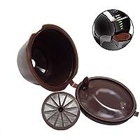 Deanyi 1pc Recargable Vaina Taza de café de Acero Inoxidable cápsula de Filtro para Dolce Gusto - Café