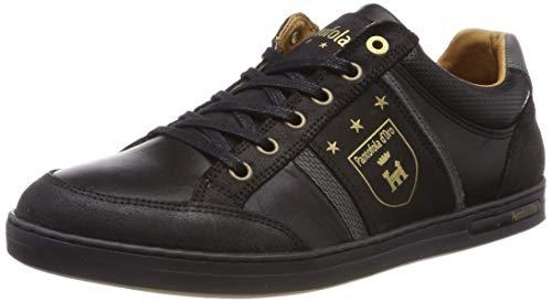 Pantofola d'Oro Mondovi Uomo Low, Scarpe da Ginnastica Basse, Nero (Black .25Y), 44 EU