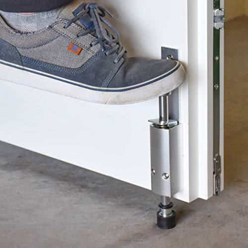 Kick&Fix Türfeststeller - Premium Türhalter mit Fußbedienung | Besonders robust | Flexibel feststellbar | Maximaler Halt
