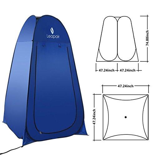 wolfwise tente instantan e de douche toilette portable camping abri de plein air vestiaire. Black Bedroom Furniture Sets. Home Design Ideas