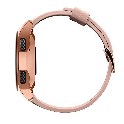 Lazzgirl Ultradünne TPU-Beschichtung Schutzhülle für Samsung Galaxy Watch 42mm(Rotgold, One Size)