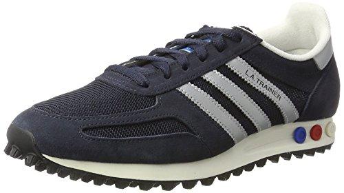 adidas Unisex-Erwachsene LA Trainer OG Gymnastikschuhe, Blau (Legend Ink/Matte Silver/Night Navy), 45 1/3 EU (Leder-trainer Adidas)