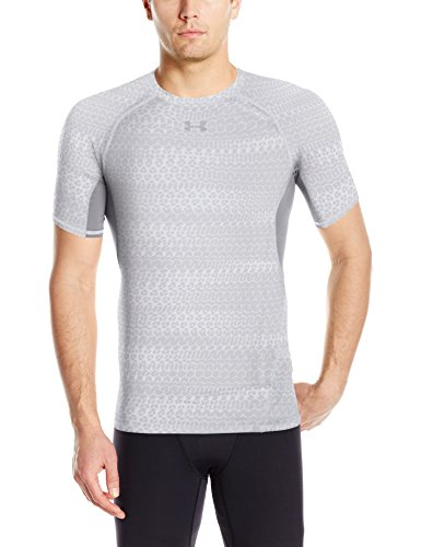 under-armour-ua-hg-printed-ss-maglietta-uomo-bianco-s