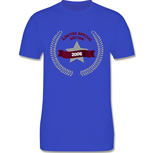 Geburtstag - 2006 Limited Special Edition - Herren Premium T-Shirt Royalblau
